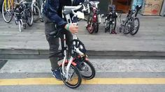 This guy must work in a folding bike shop...