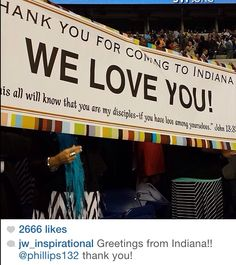 ♥•.¸¸.•♥    international convention in Indiana!!