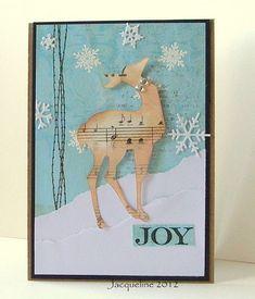 Jacqueline's Craft Nest: Christmas cards