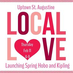 Join us Thursday for sweets treats and sales at our Uptown San Marco location from 4-8. It's a perfect time to shop our collection for the perfect gift for your Valentine Galentine Palentine or for yourself! #spanishdutch #galentinesday #palentines #valentinesday #treatyoself #igersjax #jaxbeach #staugustine #flaglercollege #uptownstaugustine #shoplocal #sale #hobo #ihearthobo #kipling #boutique #fashion @totallystaugustine @simplystaugustine @staugustinebuzz by spanishdutch