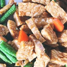 Tempeh: A Fermented Soybean with Many Probiotic Benefits by @draxe