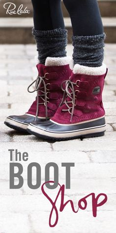 Score must-have winter boots from brands like BEARPAW and EMU Australia at up to 70% off. Sign up for Rue La La (it's always free) to get started.