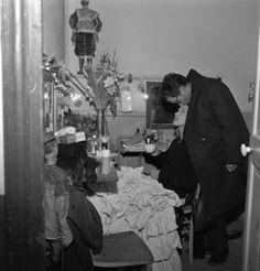 Jean-Luc Godard and Anna Karina photographed by Jack Garofalo at home, Paris, 1963