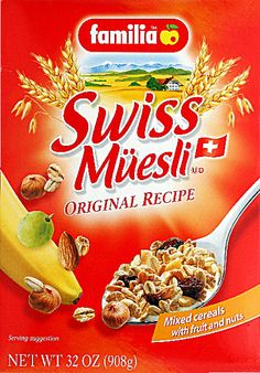 musli cereal box - Google Search