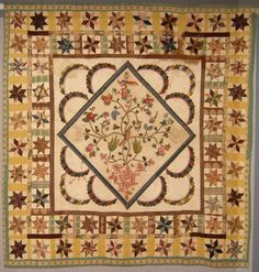 Piecing the Past Quilts: Saturday at the Quilt Museum - 19th Century Medallion Quilts - Part 2