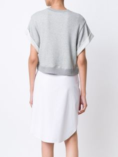 Derek Lam 10 Crosby платье-толстовка