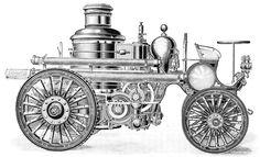 Self propelled steam engine 1895 (Popular Science 1895)