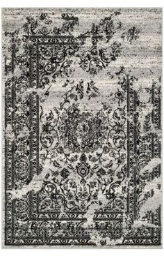 Safavieh Adirondack ADR101 Silver Black Rug 210- ok one of 3.  Will probably end up with the Spinx (darker) GORGEOUS