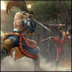 UFS SoulCalibur IV : Mitsurugi by Webcomicfan.deviantart.com on @DeviantArt