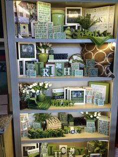 St. Patrick's Day Display February-March 2015
