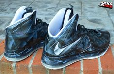 "Nike LeBron 10 ""War Machine"" By Kickasso Kustoms"