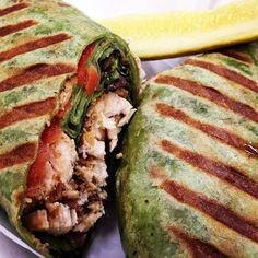 """""""Grilled chicken spinach wrap, eating as healthy as I can on the road #lowcarb #lowfat"""" Photo taken by @thefirehousegourmet on Instagram, pinned via the InstaPin iOS App! http://www.instapinapp.com (09/30/2015)"""
