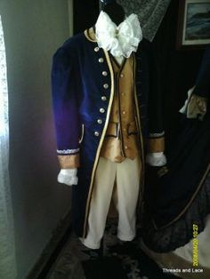 18th Century Mens Outfit  by  Threads and Lace