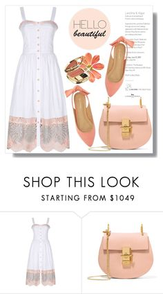 """Hello Beautiful"" by queenvirgo ❤ liked on Polyvore featuring Temperley London, Chloé and Dolce&Gabbana"