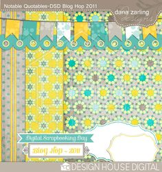 Free Blog Hop Mini Kit from Dana Zarling Designs