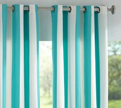 Sunbrella Indoor/Outdoor Grommet Drape (this is the color of my living room walls..love these)