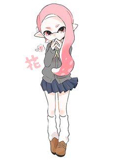 Splatoon 2 Art, Splatoon Comics, Sailor Moon, Callie And Marie, Fanart, Anime Demon, Kawaii Anime, Cute Art, Fantasy Art