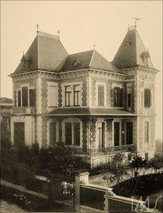 1900 São Paulo Residência de Ramos de Azevedo Autor Otto Rudolf Quaas
