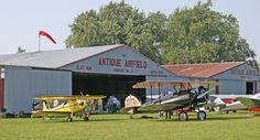 A flight back in time: Antique Airplane Fly-In — General Aviation News
