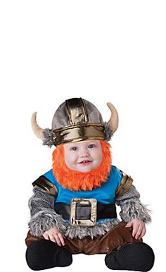 Baby Lil Viking Costume Deluxe