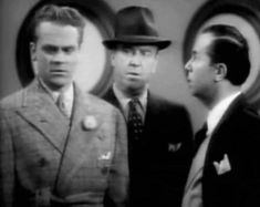 William Frawley (center) with James Cagney in Something to Sing About I Love Lucy, My Love, William Frawley, Ethel Waters, Vivian Vance, Hattie Mcdaniel, James Cagney, Turner Classic Movies, Humphrey Bogart