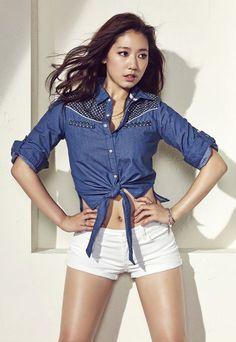 Sexy Park Shin Hye | Korean Magazine Lovers (Park Shin Hye - Jambangee Summer 2014)
