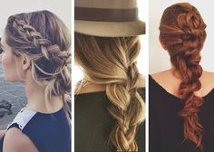 19 New Summer Braid Hairstyles : Lucky Magazine