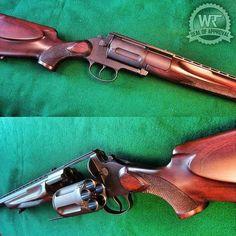 Weapons Guns, Guns And Ammo, Zombie Weapons, Armas Wallpaper, Revolver Rifle, Military Guns, Military Jokes, Concept Weapons, Custom Guns