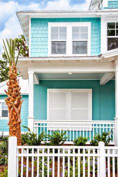 turquoise house | Glenn Layton Homes