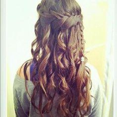 cute casual hairstyles | Casual wavy braided hairstyle | Cute Braided Hairstyles | starMedia
