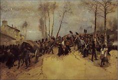 L'Invasion, 1814, Édouard Detaille, Paris, Musée de l'Armée.