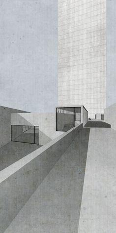 """Entwerfen und Gebäudelehre   """"European Skyscraper II """"   Alexanderplatz, Berlin"""