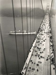 The Golden Gate Bridge opened on May 27, 1937