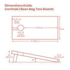 Cornhole platforms, or boards, have regulated dimensions of Cornhole Board Dimensions, Cornhole Board Plans, Custom Cornhole Boards, Cornhole Set, Diy Yard Games, Diy Games, Backyard Games, Wood Shop Projects, Small Wood Projects