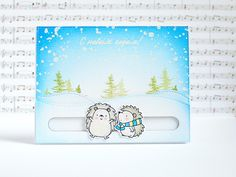 Interactive card with MFT stamps