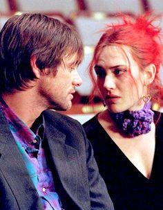 <3<3<3 Eternal Sunshine of the Spotless Mind by Michel Gondry, 2004 (Jim Carrey, Kate Winslet, Tom Wilkinson, Mark Ruffalo, Kirsten Dunst, Elijah Wood)
