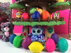 LPS Moshi Monsters Shopkins Play-Doh Surprise Egg Opening Unboxing | PSToyReviews - YouTube