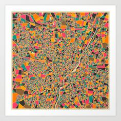 Munich Art Print by Jazzberry Blue - $19.00