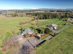 Horse Property for Sale in Island County in Washington. On the Northend of Camano Island, you really can have it all! Acreage with a view, an upscale home and horse facilities. This home is well maintained and move in ready, easy living with master, open kitchen and family room on entry level with vaulted ceilings.