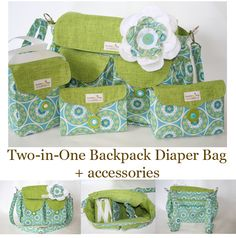 Cute diaper bag and accessories but also has fabulous bags