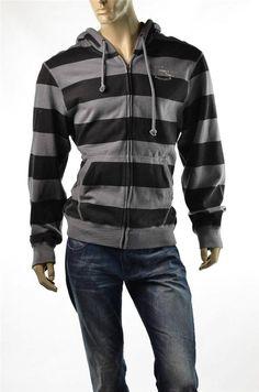 Buffalo David Bitton Hoodie Shirt Mens Fleece Sweatshirt Shirts SZ XL NEW Black #Buffalo #Hoodie