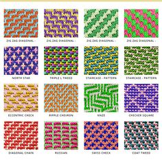 Mosaic Knitting | Slip-stitch Knitting | Two color Knitting | Three color Knitting | Two color slip stitch | Faux Fair Isle Knitting. A lot of stitch patterns, you can use for any project  . All free!