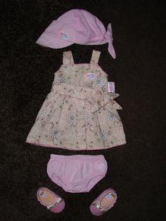 BABY BORN Bekleidungsset mit Kleid,Hose,Schirmtuch und Schuhe von ZAPF CREATION in Spielzeug, Puppen & Zubehör, Babypuppen & Zubehör | eBay!