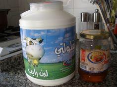 Plain yogurt with honey!  Fabulous breakfast and the kids LOVE it.  We go through two of these 4 kilo jugs of plain yogurt a week!
