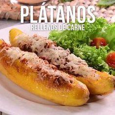 Prueba este delicioso platillo colombiano de plátanos machos rellenos de carne molida. Una rica combinación que no puedes dejar pasar.