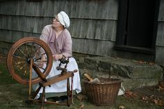 Purchased a spinning wheel very similar to this at an Antique & Unique sale