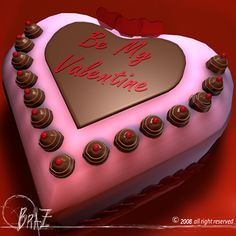 valentine cakes...this cake looks so pretty and good, but hard to make... i would love to learn how to make it