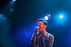 Nate Ruess by Loℓa, via Flickr  Nate Ruess of fun.    YUMMMM!!!! ~,~