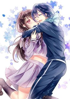 Noragami yato and hiyori