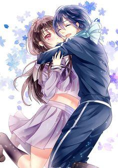 Noragami yato and hiyori